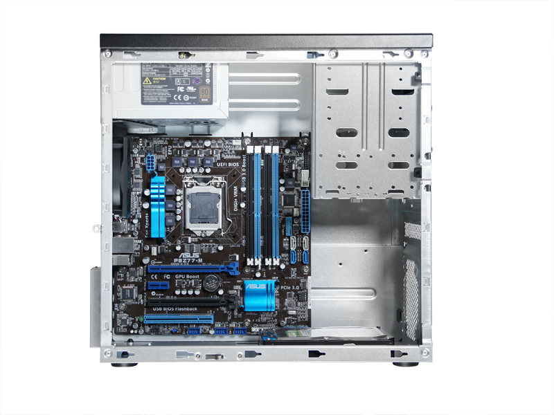 Deeper chassis depth for easy motherboard installation